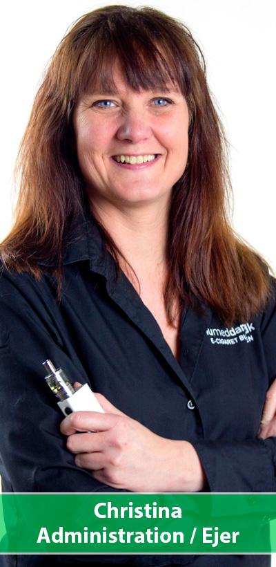 Christina hos numeddamp.dk | e-cigaret butikken