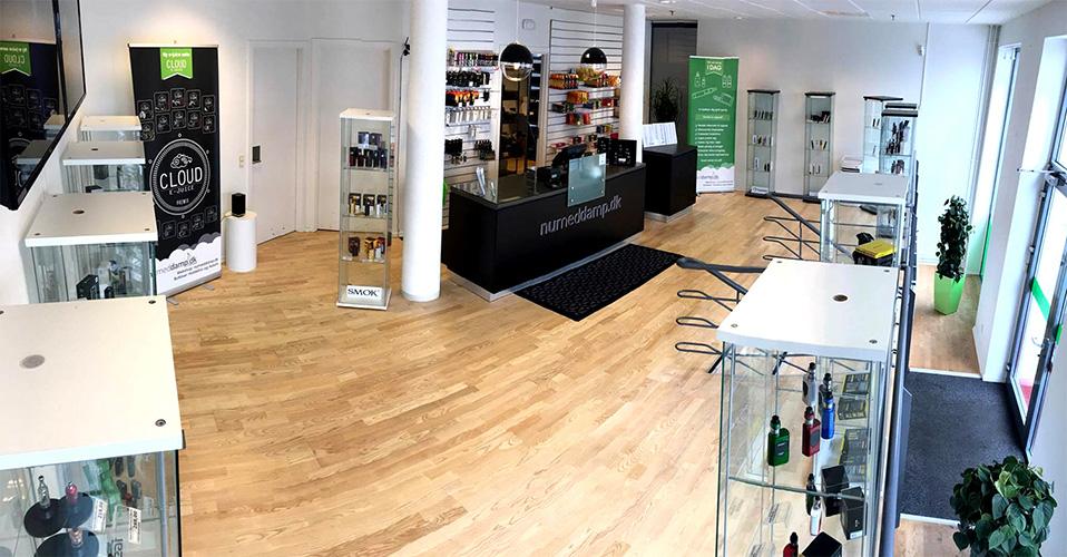 Besøg numeddamp e-cigaret butikken i Holstebro lige her