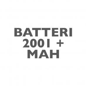 Batterier 2000+mAh