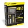 Nitecore D2 Digital batteri lader (2 x batterier)
