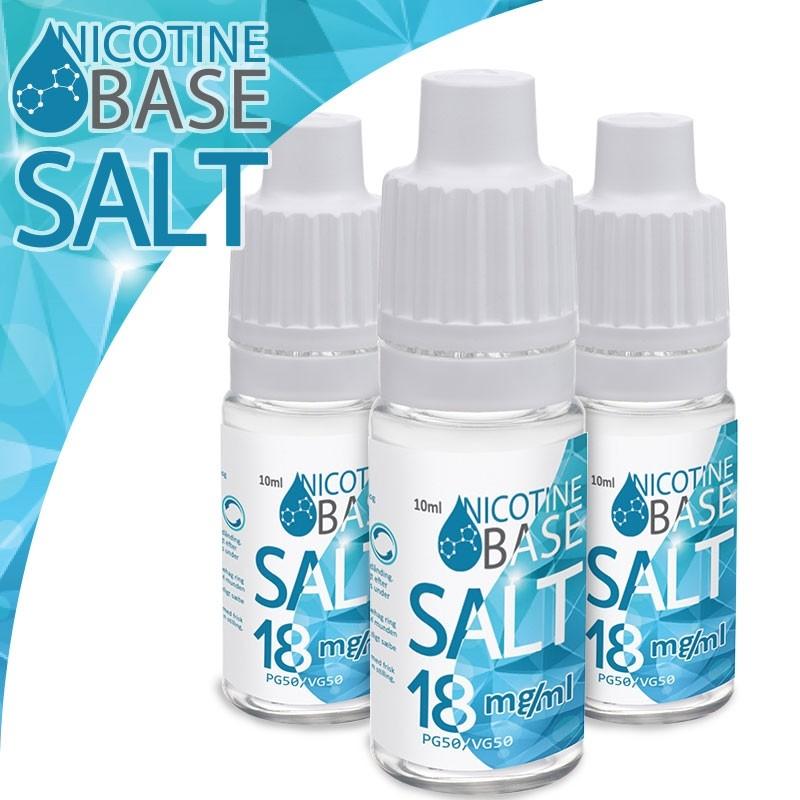 f90069d7202b Nikotinsalt base til selvblander e-juice (18mg) 50 50 - NuMedDamp.dk