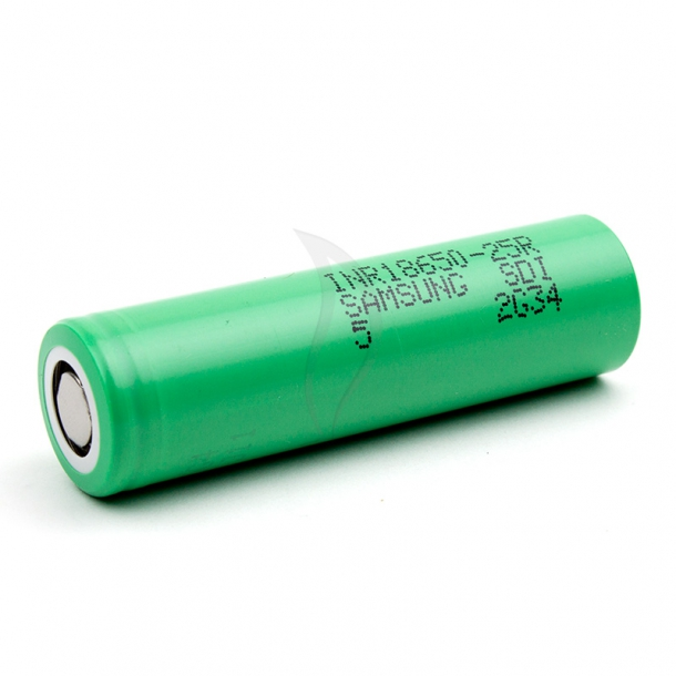 Samsung INR18650-25R High-drain Batteri - 2500mah